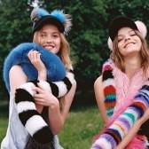 Alexa Chung、Olivia Palermo同款charlotte simone冰棒皮草围巾$472.5(约3071元)