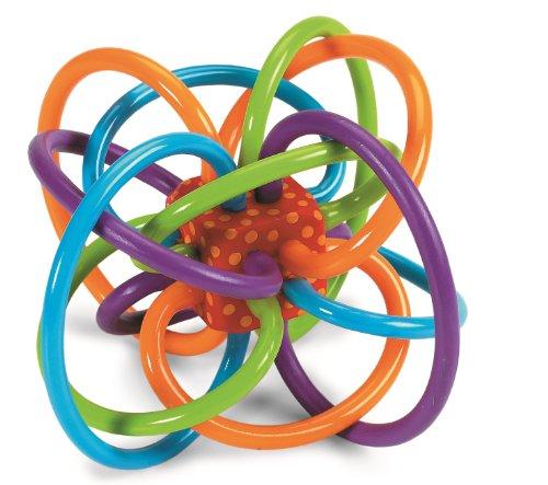 直邮到手73元!Manhattan Toy Winkel Rattle and Sensory 儿童咬胶固齿器 ¥54+¥19.02