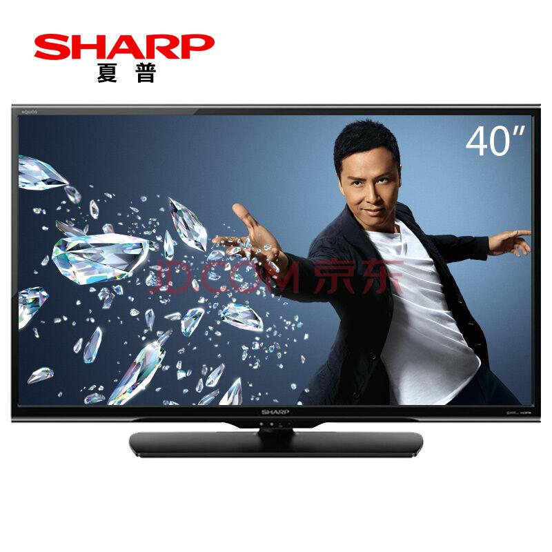 仅陕西!SHARP夏普  LCD-40DS13A 40英寸液晶电视 1699元包邮