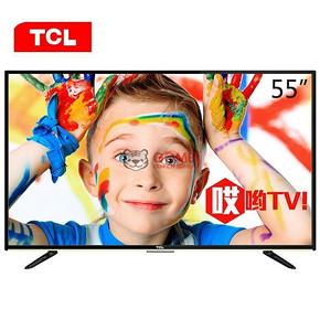限地区# TCL D55A710 55英寸 全高清安卓智能LED液晶电视