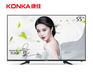 KONKA 康佳 LED55K60U 55寸智能液晶电视 2299元包邮(2499-200)