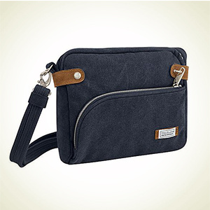 eBags:Travelon Heritage Small 防盗斜挎包