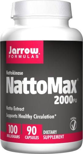 抗血栓!Jarrow 杰诺 纳豆酵素激酶100mg*90粒
