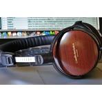又降!Audio-Technica ATH-ESW9A 木制外壳封闭式耳机