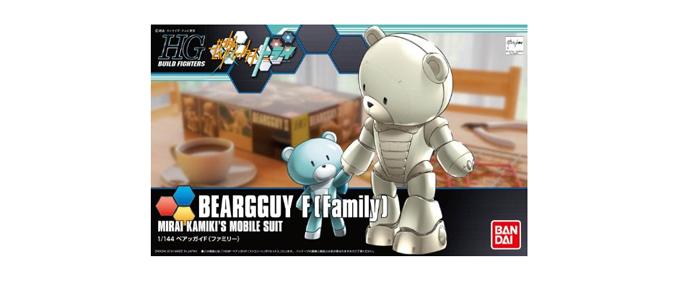 BANDAI万代 HGD-194360熊霸 敢达模型 HGBF1:144