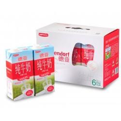 已过期顺丰优选 Weidendorf德亚 全脂牛奶1L*6盒