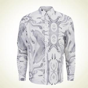 THE HUT.COM:限M码,Soulland 男士印花长袖衬衫