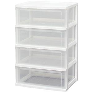 IRIS 爱丽思 N544抽屉塑料收纳盒储物柜