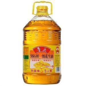 鲁花 5S压榨一级花生油 6.18L