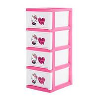 IRIS爱丽思 Disney环保树脂四层儿童收纳柜