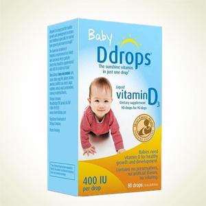 Walgreens:Ddrops 婴儿维生素D3滴剂2.5ml