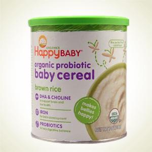 Vitacost:Happy Baby 婴儿有机糙米米粉 198g