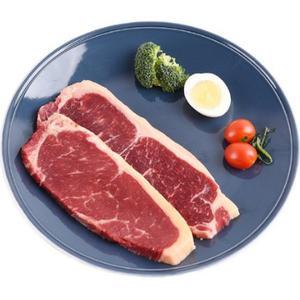 NATREGRO明康汇 澳洲原切 西冷牛排 500g*2包