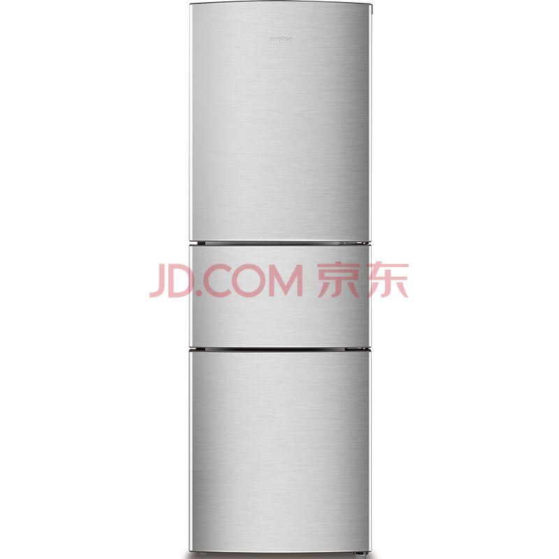 Ronshen 容声 BCD-218D11N 218升 三门冰箱    1199元包邮(1299,每满1000-100)