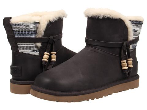 UGG Auburn Serape Charcoal 女士雪地靴