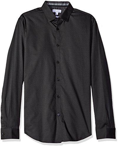 Calvin Klein 男士修身纯棉衬衫