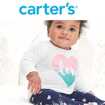 Carter's:卡特童装 清仓区额外7折、低至2.5折!