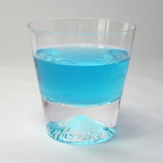 田岛硝子 富士山水晶玻璃杯 江户岩石玻璃 ¥310