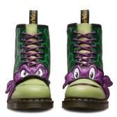 Dr. Martens 忍者神龟主题系列 Donnie 中性马丁靴 $75(约543元)