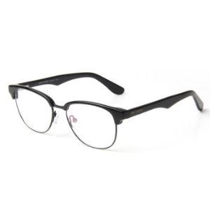 Jimmy Orange美国品牌 潮流时尚眼镜框 男女款近视配镜眼镜架JO6602 时尚雅黑BK