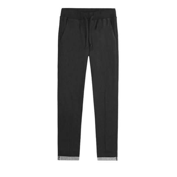 休闲有型!viishow 简约修身抽绳水洗休闲长裤 179元(需邮费)