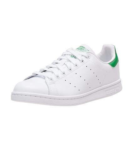 折合245.00元 Adidas阿迪达斯Cloudfoam Advantage Clean男士经典小白鞋 绿尾 折后$35