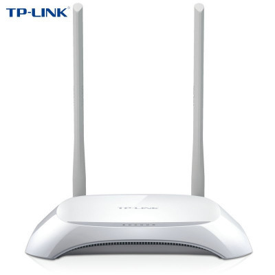 ¥74.90 TP-LINK(普联) TL-WR842N 300M无线路由器 (白色)智能家用wifi