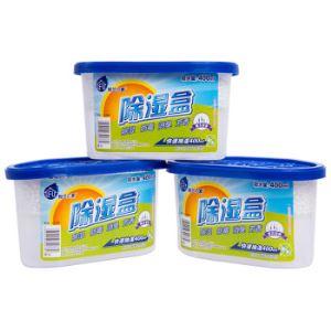 【京东超市】粉兰之家 除湿盒400ml*3盒 衣服衣柜干燥剂室内汽车防潮防霉吸湿桶