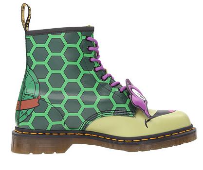 Dr. Martens 忍者神龟主题系列 DONNIE款 中性马丁靴