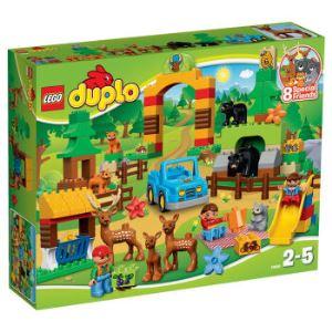 【京东超市】乐高 (LEGO) DUPLO 得宝森林主题 野生公园 10584 积木低幼启蒙益智玩具