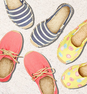 Gilt 精选儿童Soludos趣味草编鞋特卖
