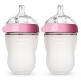 宝妈必备!【中亚Prime会员】Comotomo 可么多么 粉色奶瓶 227g*2只装 到手价175元
