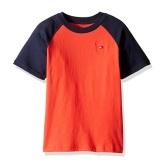 【美亚自营】Tommy Hilfiger 男童短袖T恤 $4.95(约36元)