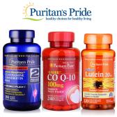 Puritan's Pride 普丽普莱官网:精选鱼油、辅酶Q等 买1送2+额外7.9折