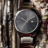 Calvin Klein Exchange系列 瑞士石英男表K2F21161 $79.99(约579元)