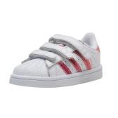 最后史低价!Adidas Originals 三叶草 Superstar 学步儿童运动鞋 $17.79(约130元) (已过期)