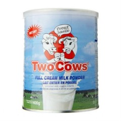 荷兰直邮!Two Cows 淘高斯成人全脂速溶奶粉 400g 36元