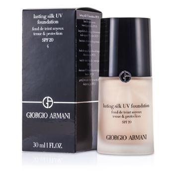 ¥342.40 GIORGIO ARMANI 乔治·阿玛尼 Lasting Silk 持久丝滑 防晒粉底液 SPF20 30ml(4色可选)