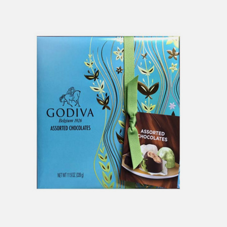 歌帝梵(Godiva) 巧克力礼盒套装 27颗 333g 含税包邮 ¥149