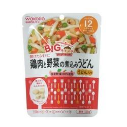 折合48.13元 wakodo 和光堂 鸡肉蔬菜乌冬面泥 120g*6袋