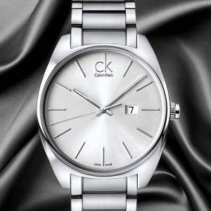 Calvin Klein Exchange系列 K2F21126 瑞士时尚石英男款腕表 $68,转运约493元