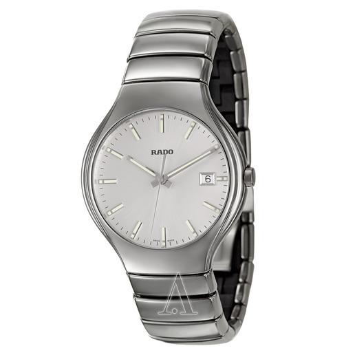 折合2723.00元 RADO 雷达 True系列 R27654122 男士陶瓷腕表