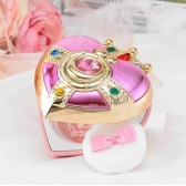 Creer Beaute 克丽贝蒂 美少女战士螺旋爱心镜盒胭脂 315元
