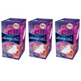 【中亚Prime会员】Always Radiant 夜用香型超薄护翼卫生巾22片装 *3包装 到手价160元