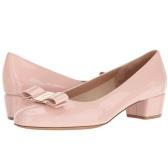 Salvatore Ferragamo Vara 1 女款粉色蝴蝶结装饰低跟鞋 $329.99(约2390元)