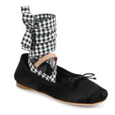 时髦又实穿!Miu Miu 绑带芭蕾鞋 $230(约1666元)