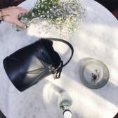 Meli Melo 新款 黑色印花水桶包 MINI £425(约3673元)