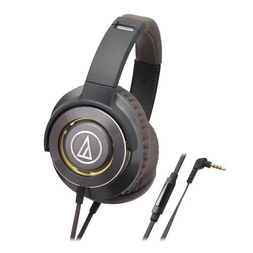 Audio-Technica 铁三角 ATH-WS770iSGM 重低音耳机 $66.99(约455.42元)