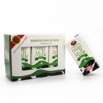 亚马逊中国 LIVING PLANET生机谷 有机全脂牛奶 1L*6盒