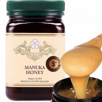 亚马逊中国 Manuka Gold 黄金麦卢卡 蜂蜜(5+) 500g